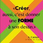 Creativite et innovation pour changer le monde - citation Camus